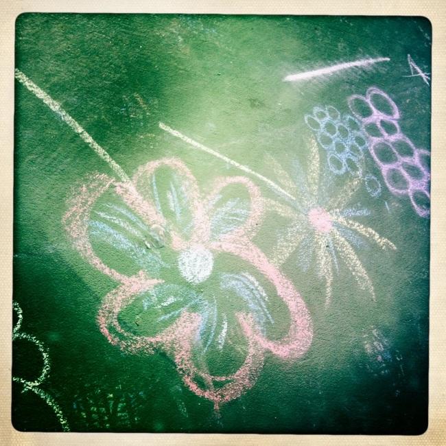 flower chalk