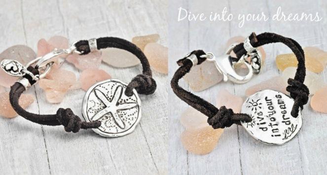Starfish Silver Bracelet