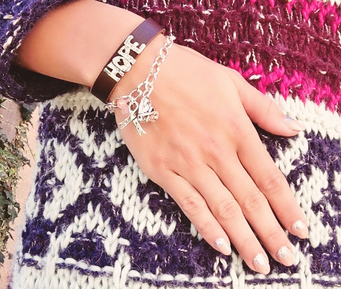breast cancer bracelet hope bracelet
