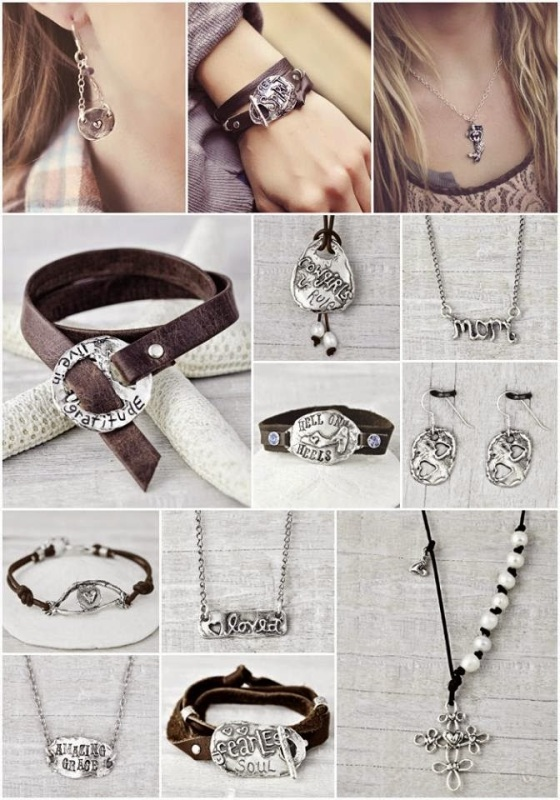 leather bracelets inspirational jewelry