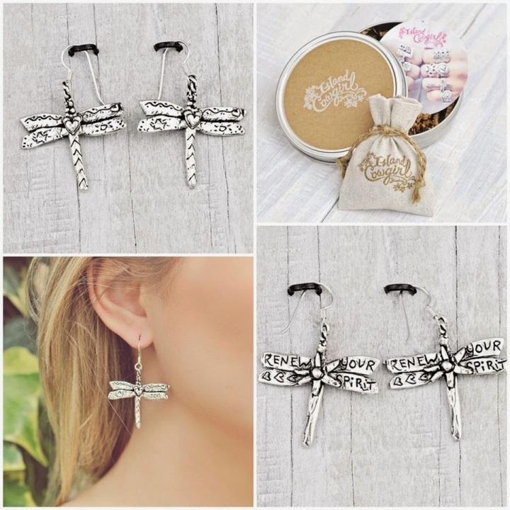 drangonfly earrings