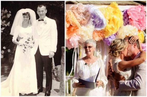 bohemian wedding vintage wedding