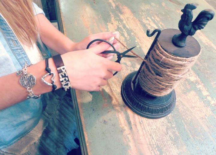 peace leather bracelet open heart bracelet
