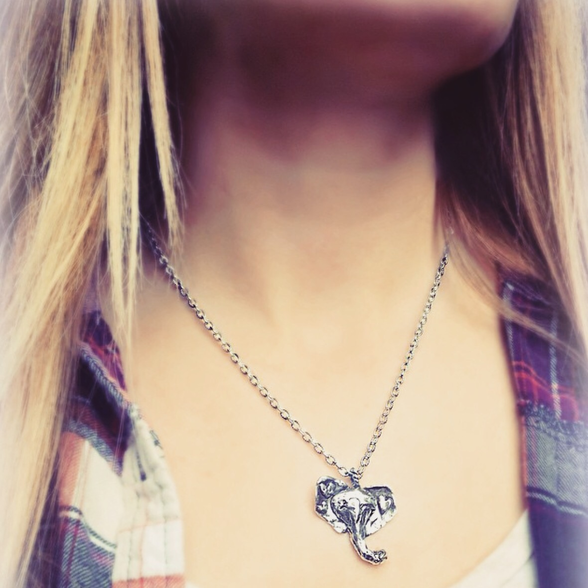 elephant necklace*