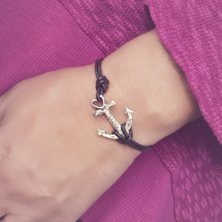 anchor-bracelet-leather