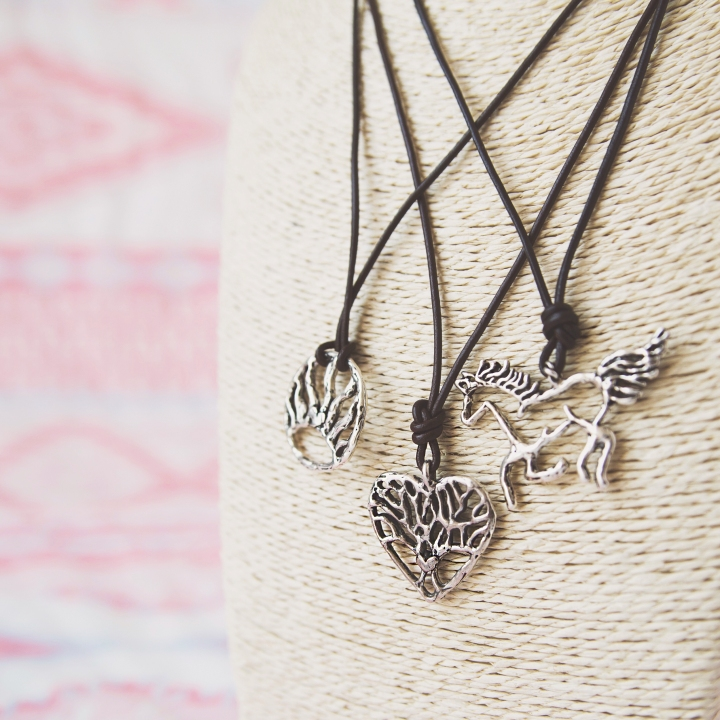 horse necklace tree of wisdom necklace